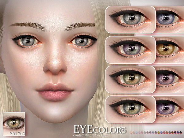 Eyecolor 201703 by S Club LL at TSR image 645 Sims 4 Updates