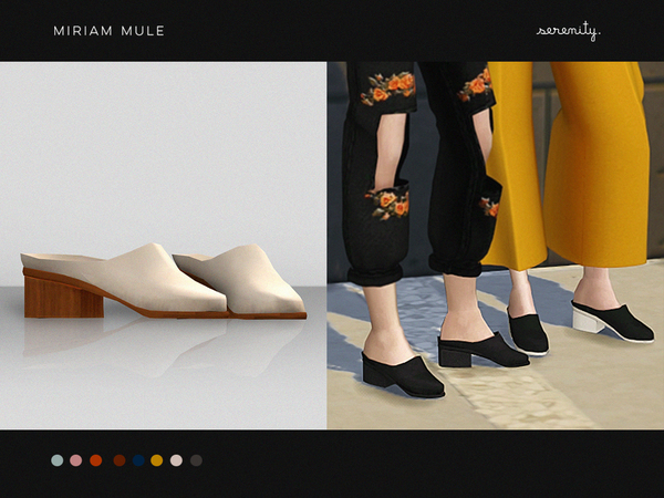 Sims 4 Miriam Mule by serenity cc at TSR