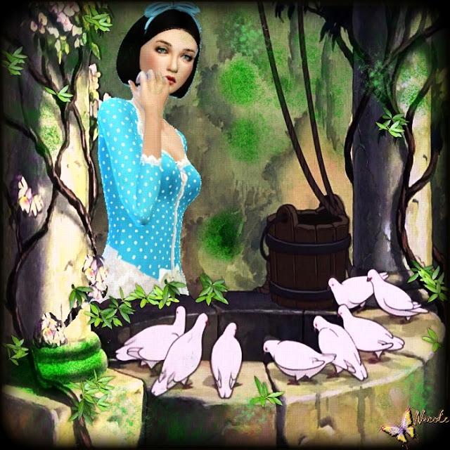 Snow White by Cedric13 at L'univers de Nicole image 6541 Sims 4 Updates