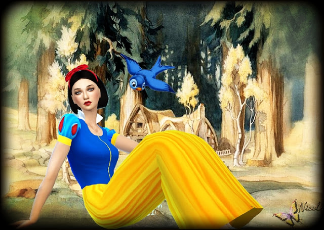 Snow White by Cedric13 at L'univers de Nicole image 656 Sims 4 Updates