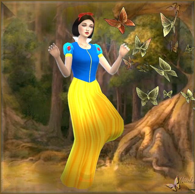 Snow White by Cedric13 at L'univers de Nicole image 657 Sims 4 Updates