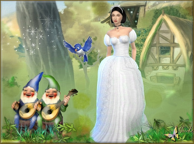 Snow White by Cedric13 at L'univers de Nicole image 658 Sims 4 Updates
