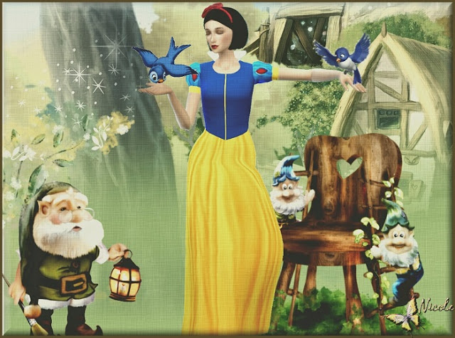 Snow White by Cedric13 at L'univers de Nicole image 660 Sims 4 Updates