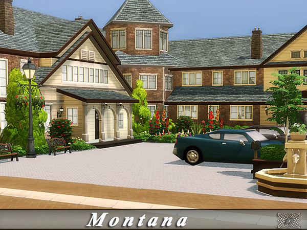 Montana home by Danuta720 at TSR image 665 Sims 4 Updates