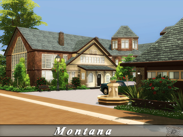 Montana home by Danuta720 at TSR image 675 Sims 4 Updates
