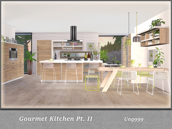 Gourmet Kitchen Pt. II by ung999 at TSR image 680 Sims 4 Updates
