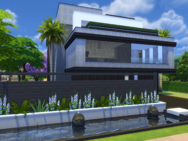 Sims 4 Casillia house by Suzz86 at TSR