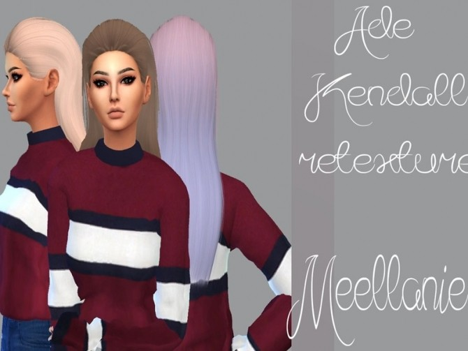 Ade Kendall Hair Retexture by Meellanie at TSR image 7011 670x503 Sims 4 Updates