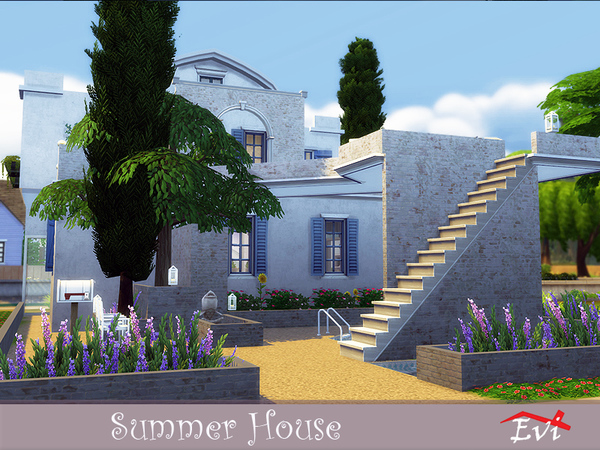 Summer House by Evi at TSR image 7111 Sims 4 Updates