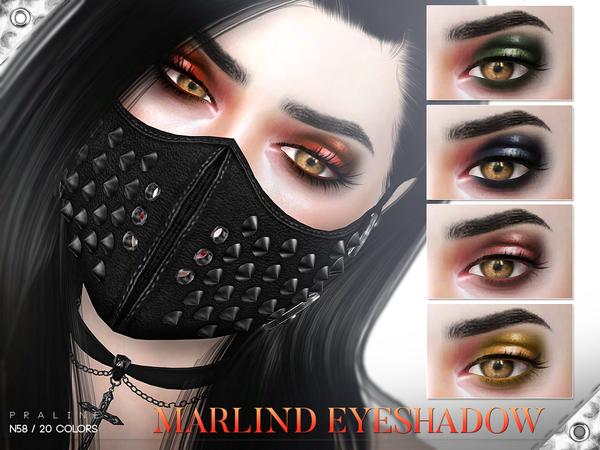 Sims 4 Marlind Eyeshadow N58 by Pralinesims at TSR