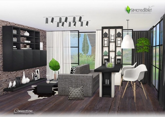 Connection dining room at SIMcredible! Designs 4 image 7213 670x474 Sims 4 Updates