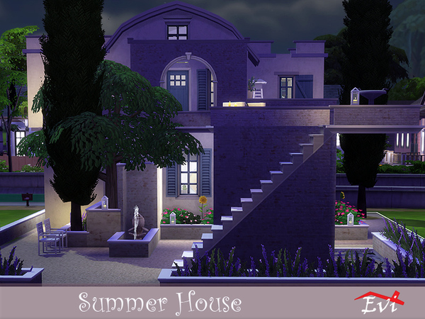 Summer House by Evi at TSR image 726 Sims 4 Updates