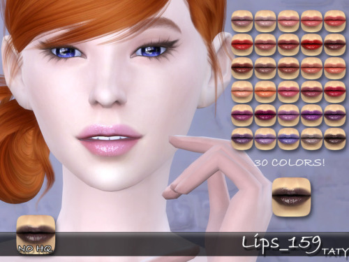 Sims 4 Lips 159 at Taty – Eámanë Palantír