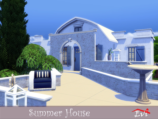 Summer House by Evi at TSR image 737 Sims 4 Updates