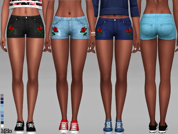 Sims 4 Boohoo Summeria Shorts by Margeh 75 at TSR