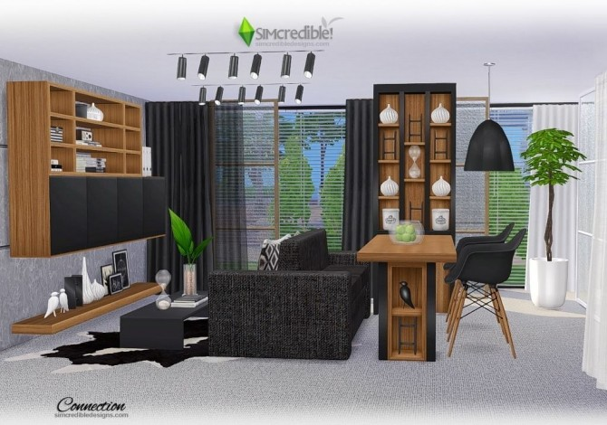 Connection dining room at SIMcredible! Designs 4 image 7412 670x470 Sims 4 Updates