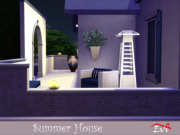 Summer House by Evi at TSR image 747 Sims 4 Updates