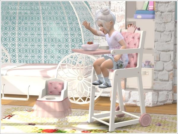 Princess Nursery by Severinka image 750 Sims 4 Updates