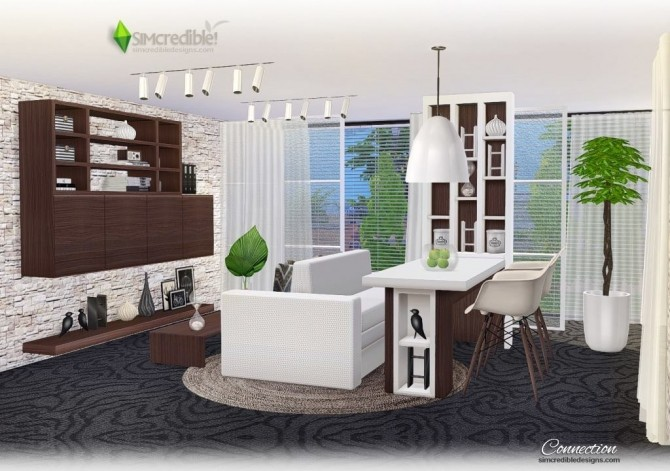 Connection dining room at SIMcredible! Designs 4 image 7512 670x471 Sims 4 Updates
