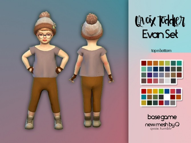 Toddler Evan Set at qvoix – escaping reality image 756 670x503 Sims 4 Updates
