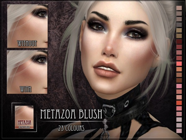 Metazoa Blush by RemusSirion at TSR image 761 Sims 4 Updates