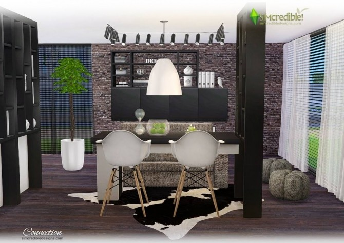 Connection dining room at SIMcredible! Designs 4 image 7712 670x474 Sims 4 Updates