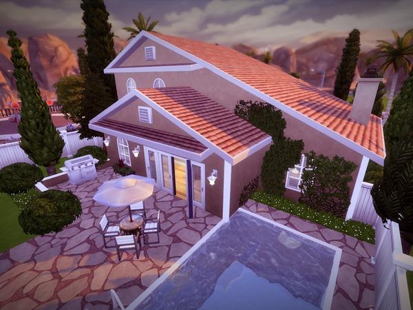 Sims 4 Casa LasLLamas by melcastro91 at TSR