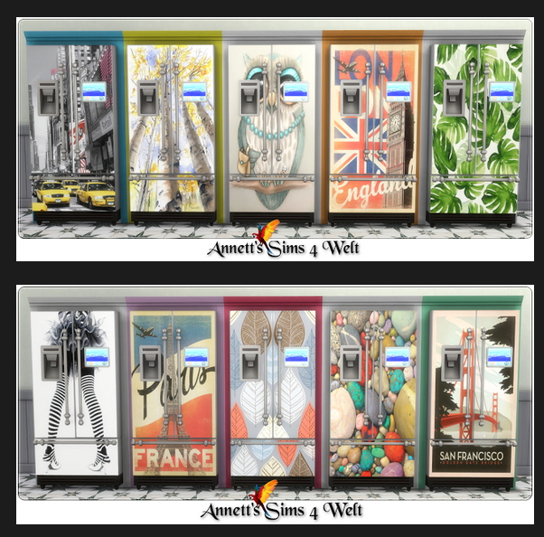 Parenthood Fridge Recolors at Annett's Sims 4 Welt image 773 Sims 4 Updates