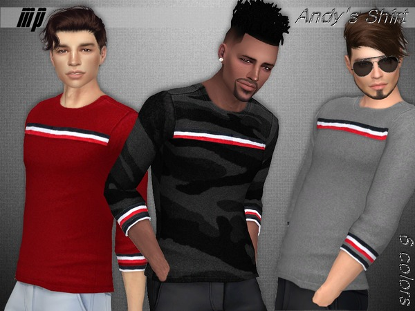 Sims 4 MP Andys Top by MartyP at TSR