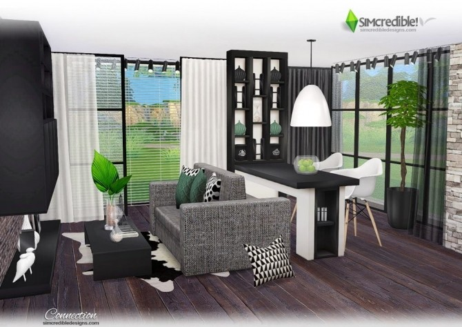 Connection dining room at SIMcredible! Designs 4 image 8012 670x474 Sims 4 Updates