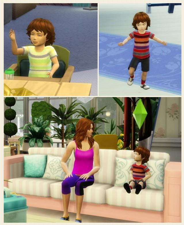 Sims 4 Toddler's Fuzzy Hair at Birksches Sims Blog