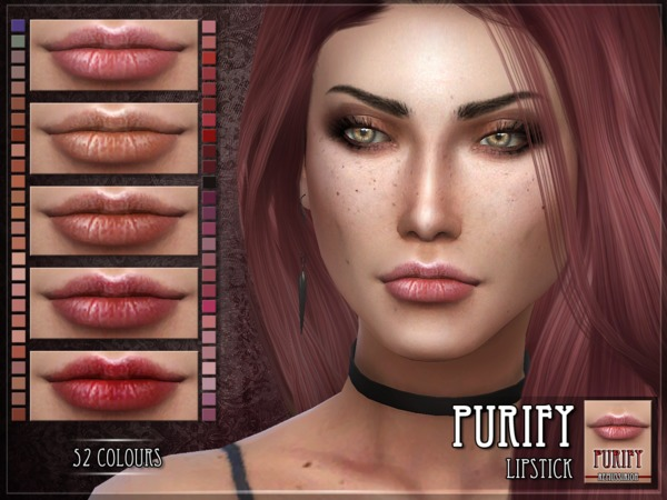 Purify Lipstick by RemusSirion at TSR image 812 Sims 4 Updates