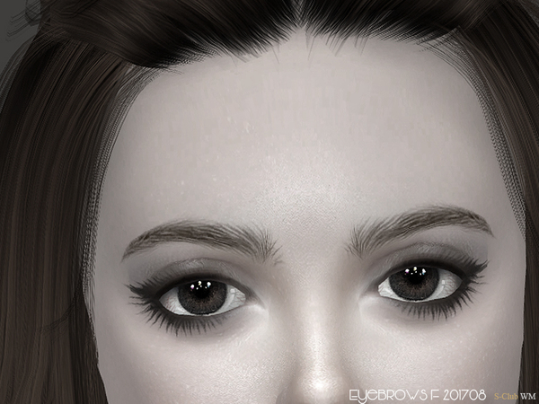 Eyebrows F 201708 by S Club WM at TSR image 827 Sims 4 Updates