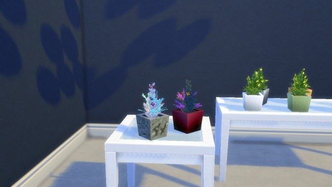 Succulent Plants in Ceramic/Stone Pots by VictorialaRidge at TSR image 8310 670x377 Sims 4 Updates