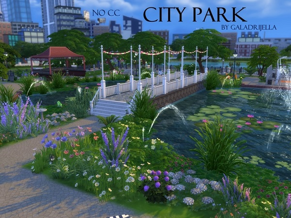 City Park by galadrijella at TSR image 845 Sims 4 Updates