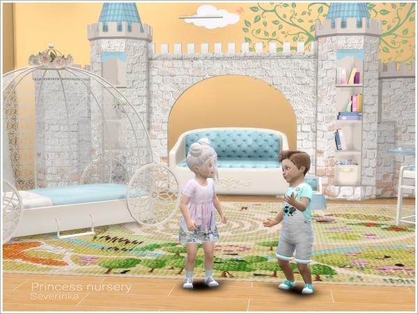Princess Nursery by Severinka image 850 Sims 4 Updates