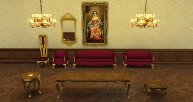 Sims 4 Socialite Set from TS2 by TheJim07 at Mod The Sims