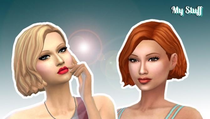 Sims 4 Amalia Hairstyle at My Stuff