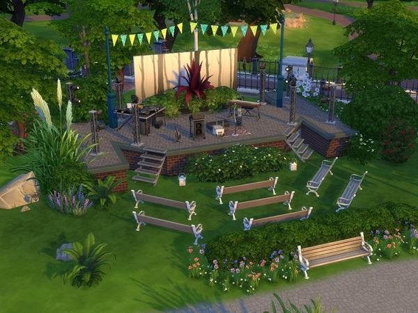 City Park by galadrijella at TSR image 855 Sims 4 Updates