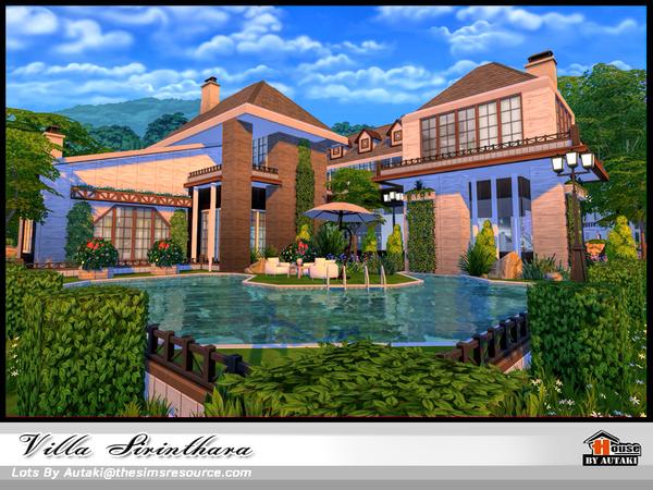 Villa Sirinthara by autaki at TSR image 860 Sims 4 Updates