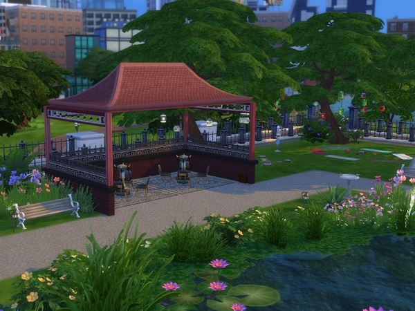 City Park by galadrijella at TSR image 865 Sims 4 Updates
