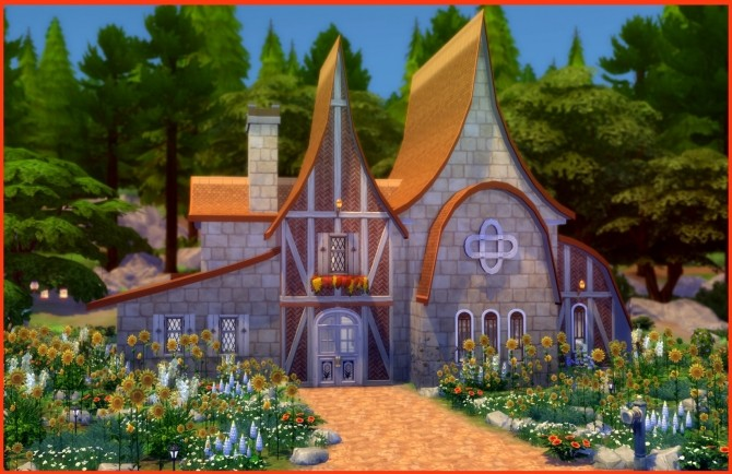 Sims 4 Fantasia Vacation Cottage by zims33 at Mod The Sims