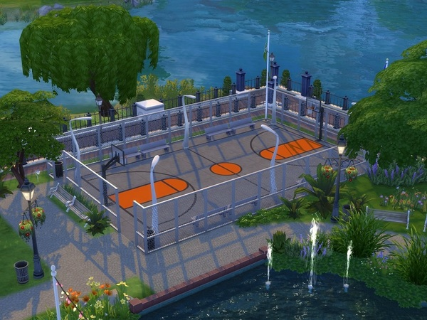 City Park by galadrijella at TSR image 874 Sims 4 Updates