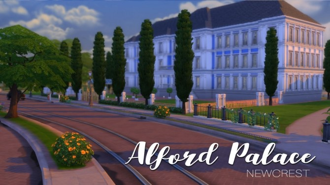 Alford Palace by yourjinthemiddle at Mod The Sims image 891 670x377 Sims 4 Updates