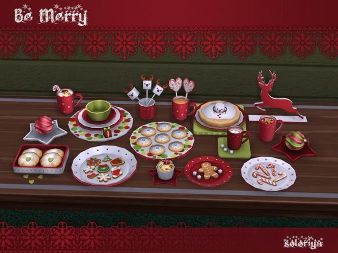 Be Merry deco set at Soloriya image 895 670x503 Sims 4 Updates