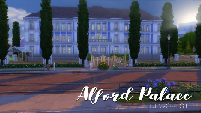 Alford Palace by yourjinthemiddle at Mod The Sims image 901 670x377 Sims 4 Updates