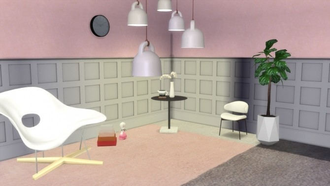 Sims 4 Bell Lamp (Pay) at Meinkatz Creations