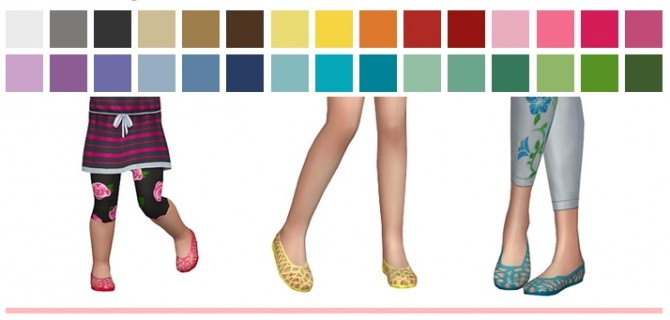 Jellies sandals at SimLaughLove image 9016 670x320 Sims 4 Updates