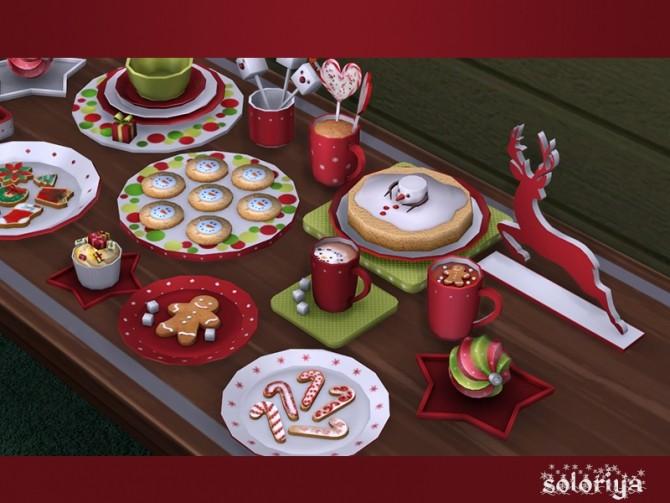 Be Merry deco set at Soloriya image 906 670x503 Sims 4 Updates