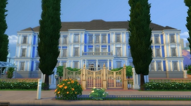 Alford Palace by yourjinthemiddle at Mod The Sims image 911 670x372 Sims 4 Updates